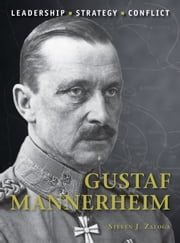 Gustaf Mannerheim ebook by Steven J. Zaloga, Mr Adam Hook
