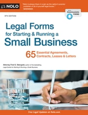 Legal Forms for Starting & Running a Small Business ebook by Fred S. Steingold, Attorney