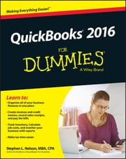 QuickBooks 2016 For Dummies ebook by Stephen L. Nelson