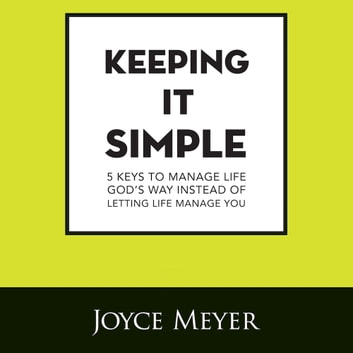 Keeping It Simple audiobook by Joyce Meyer