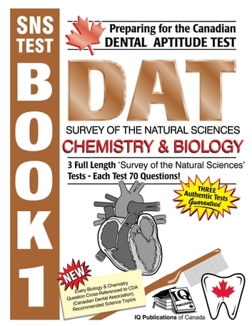 Preparing for the Canadian DAT Survey of the Natural Sciences Chemistry &  Biology