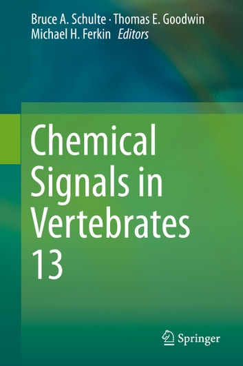 Chemical Signals in Vertebrates 13 ebook by