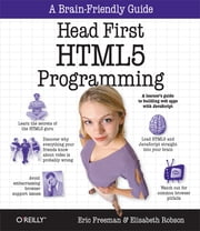 Head First HTML5 Programming - Building Web Apps with JavaScript ebook by Eric Freeman,Elisabeth Robson
