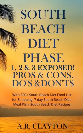 south beach diet phase 1, 2 & 3 exposed! pros & cons. do's & don'ts