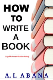 how to writing a book