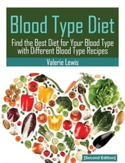 Blood Type Diet [Second Edition] - Featuring Blood Type Recipes ebook by Valerie Lewis