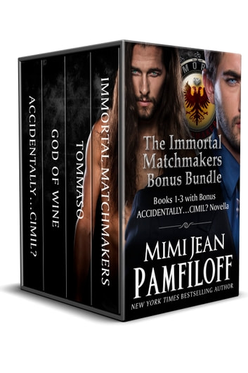 BOXED SET: The Immortal Matchmakers, Inc. BONUS Bundle - Books 1-3, Bonus Novella ebook by Mimi Jean Pamfiloff