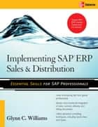 Implementing SAP ERP Sales & Distribution ebook by Glynn Williams