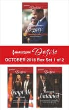 Harlequin Desire October 2018 - Box Set 1 of 2 - The Billionaire's Legacy\Tempt Me in Vegas\Rancher Untamed ebook by Reese Ryan, Maureen Child, Katherine Garbera