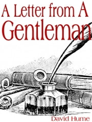 A Letter From A Gentleman ebook by David Hume