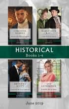 Historical Box Set 1-4/The Brooding Duke of Danforth/A Wife Worth Investing In/Tempted by His Secret Cinderella/An Earl for the Shy Widow ebook by Marguerite Kaye, Christine Merrill, Ann Lethbridge, Bronwyn Scott