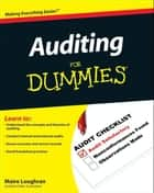 Auditing For Dummies ebook by Maire Loughran