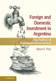 Foreign and Domestic Investment in Argentina - The Politics of Privatized Infrastructure ebook by Alison E. Post