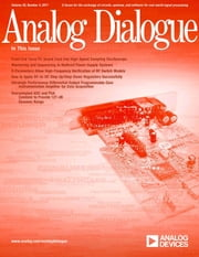 Analog Dialogue, Volume 45, Number 4 ebook by Analog Dialogue