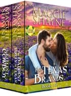 The Texas Brands Books 1 & 2 - The Littlest Cowboy and The Baddest Virgin ebook by