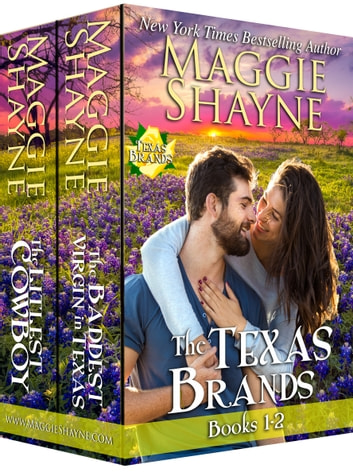 The Texas Brands Books 1 & 2 - The Littlest Cowboy and The Baddest Virgin ebook by Maggie Shayne