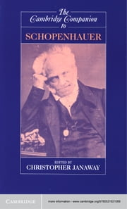 The Cambridge Companion to Schopenhauer ebook by Christopher Janaway