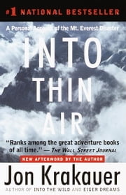 Into Thin Air ebook by Kobo.Web.Store.Products.Fields.ContributorFieldViewModel