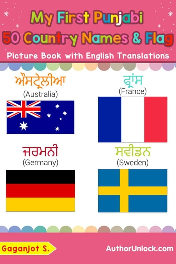 My First Punjabi 50 Country Names & Flags Picture Book with English  Translations