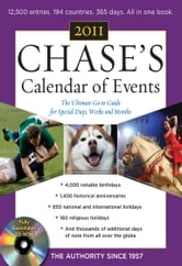Chase's Calendar of Events, 2011 Edition ebook by Editors of Chase's Calendar of Events