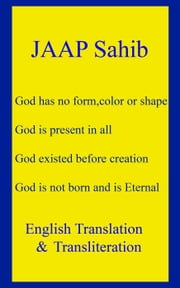 Jaap Sahib - English Translation & Transliteration ebook by God