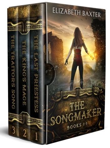The Songmaker (Epic fantasy complete trilogy) Books 1-3 ebook by Elizabeth Baxter
