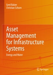 Asset Management for Infrastructure Systems - Energy and Water ebook by Gerd Balzer, Christian Schorn