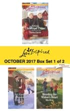 Harlequin Love Inspired October 2017 - Box Set 1 of 2 - Amish Christmas Twins\An Alaskan Christmas\Mending the Widow's Heart ebook by Patricia Davids, Belle Calhoune, Mia Ross