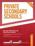 Private Secondary Schools 2012-13 ebook by Peterson's
