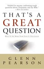 That's a Great Question ebook by Glenn Pearson