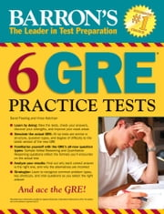 6 GRE Practice Test ebook by David Freeling,Vince Kotchian