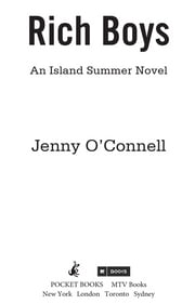 Rich Boys - An Island Summer Novel ebook by Jenny O'Connell