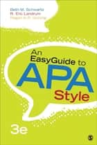An EasyGuide to APA Style ebook by Dr. Beth M. Schwartz,Regan A. R. Gurung,Ronald Eric Landrum