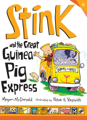 Stink and the Great Guinea Pig Express ebook by Megan McDonald