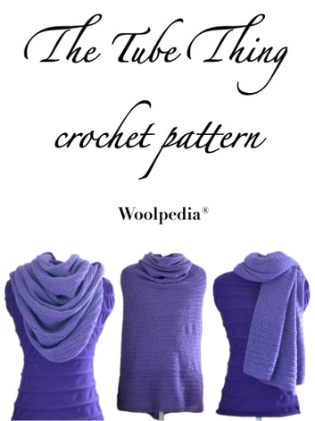 The Tube Thing - crochet pattern eBook by Julia Marquardt ...