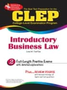 CLEP Introductory Business Law ebook by Lisa M. Fairfax