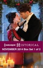 Harlequin Historical November 2014 - Box Set 1 of 2 - Wish Upon a Snowflake\The Wrong Cowboy\Darian Hunter: Duke of Desire\The Rake's Bargain\Rescued by the Viscount\The Warrior's Winter Bride ebook by Anne Herries, Lauri Robinson, Harlequin,...