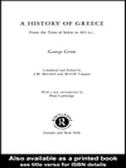 A History of Greece ebook by Grote, George