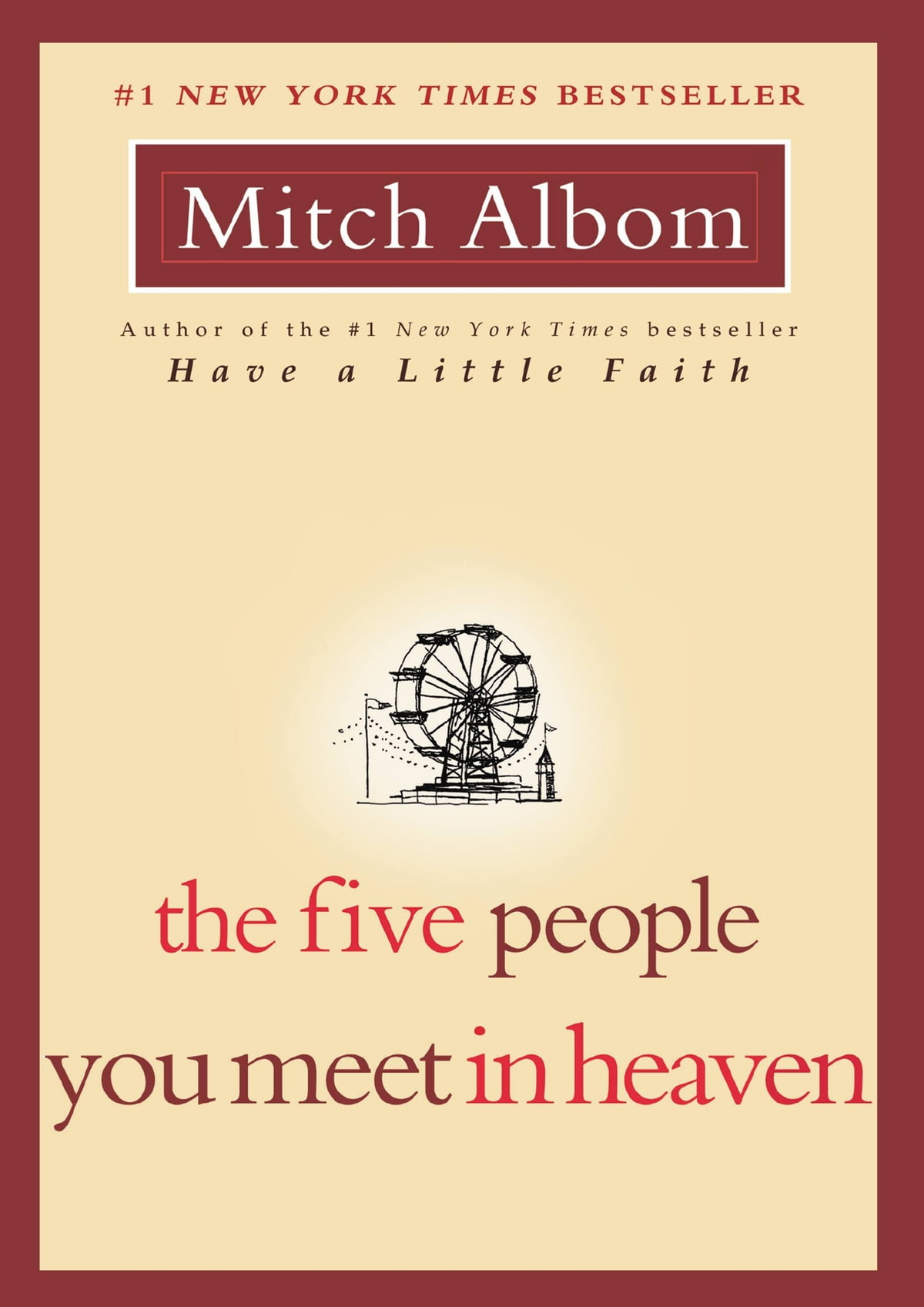 The Five People You Meet In Heaven Ebook By Mitch Albom  9781401388881   Rakuten Kobo
