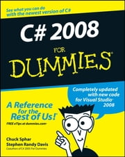 C# 2008 For Dummies ebook by Chuck Sphar,Stephen R. Davis