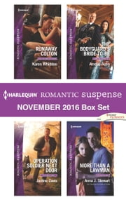 Harlequin Romantic Suspense November 2016 Box Set - An Anthology ebook by Karen Whiddon, Justine Davis, Amelia Autin,...
