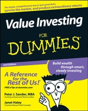 Value Investing For Dummies ebook by Peter J. Sander,Janet Haley