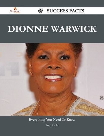 Dionne Warwick 47 Success Facts - Everything you need to know about Dionne  Warwick