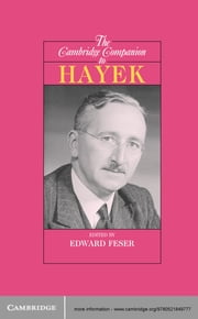 The Cambridge Companion to Hayek ebook by Edward Feser