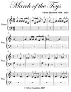 March of the Toys Beginner Piano Sheet Music ebook by Victor Herbert