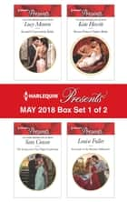 Harlequin Presents May 2018 - Box Set 1 of 2 - Kostas's Convenient Bride\The Innocent's One-Night Confession\Desert Prince's Stolen Bride\Surrender to the Ruthless Billionaire ekitaplar by Sara Craven, Kate Hewitt, Louise Fuller,...