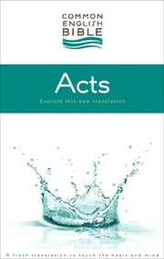 CEB Common English Bible Acts of the Apostles - eBook [ePub] ebook by Common English Bible