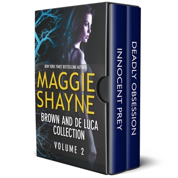 Brown and de Luca Collection Volume 2 - A Paranormal Suspense Box Set ebook by Maggie Shayne