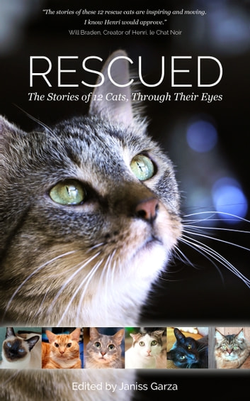Rescued: The Stories of 12 Cats, Through Their Eyes ebook by Janiss Garza