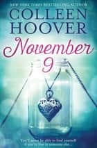 November 9 ebook by Colleen Hoover